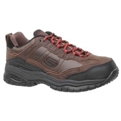 Skechers - 77059EW -CDB 9 - 4H Men's Work Shoes, Composite Toe Type, Light Brown, Size 9EE