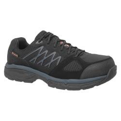 Skechers - 77083 -BLK 12 - 3-1/2H Men's Work Shoes, Alloy Toe Type, Black, Size 12D