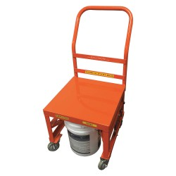 Other - BPCRT-O - Steel Raised Handle Utility Cart, 400 lb. Load Capacity, Number of Shelves: 1