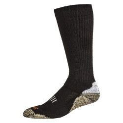 5.11 Tactical - 10023 - Unisex Crew Socks, Black, 1 PR