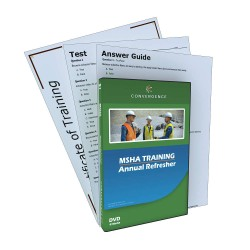 Convergence Training - C-062 - MSHA - Annual Refresher, MSHA, DVD