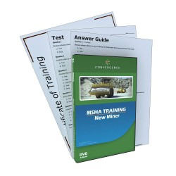Convergence Training - C-063 - MSHA - New Miner Kit, MSHA, DVD