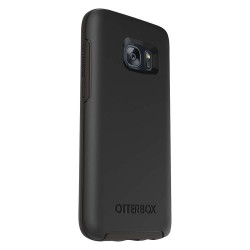 OtterBox - 77-53057 - OtterBox Galaxy S7 Symmetry Series Case - Smartphone - Black - Synthetic Rubber, Polycarbonate
