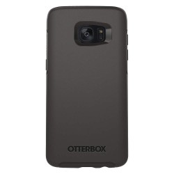OtterBox - 77-53155 - OtterBox Galaxy S7 edge Symmetry Series Clear Case - Smartphone - Black Crystal - Synthetic Rubber, Polycarbonate