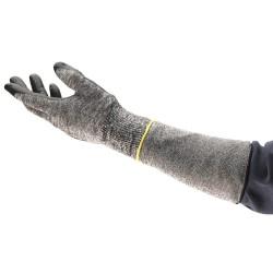 Ansell-Edmont - 11-270 - Cut Resistant Sleeve, 10 L, Gray
