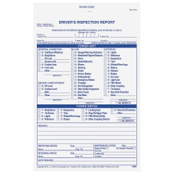 JJ Keller - 1087 - Detailed Vehicle Inspection Report