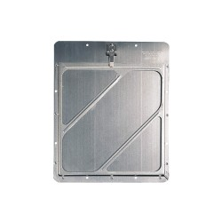 JJ Keller - 582 - 12 x 1/2 Class 3 Aluminum Placard Holder, Silver