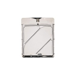 JJ Keller - 193 - 12 x 1/4 Stainless Steel Placard Holder, Silver