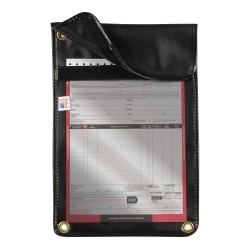 JJ Keller - 3728 - Document Holder, Window Dash Mount, Black