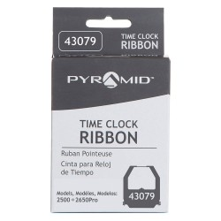 Pyramid Technologies - 43079 - Pyramid Ribbon Cartridge - Black - 1 Each