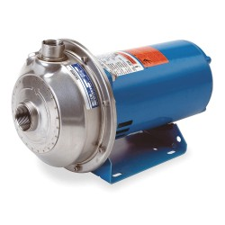 Goulds Water / Xylem - 1MS1H7A4 - 3 HP Centrifugal Pump, 3 Phase, 208-230/460 Voltage, ANSI 316L Stainless Steel Housing Material