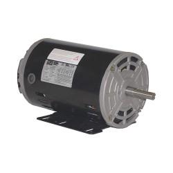 Weg - .3318OT3E56-S - 1/3 HP General Purpose Motor, 3-Phase, 1765 Nameplate RPM, Voltage 208-230/460, Frame 56