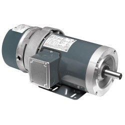 Marathon Electric / Regal Beloit - 145TTFR16360 - 1-1/2 HP Brake Motor, 3-Phase, 1755 Nameplate RPM, 230/460 Voltage, Frame 145TC