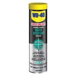 WD-40 - 300417 - Specialist Blue Lithium Complex Water Resistant Grease, 14 oz., NLGI Grade: 2
