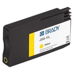 Brady - J50-YL - BradyJet Ink Cartridge, No. 03A, Yellow