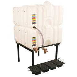 Liquidynamics - RTT-6330 - 160-gal. 2 Tank Horizontal Leg Storage Tank System