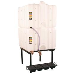 Liquidynamics - RTT-6220 - 240-gal. 2 Tank Horizontal Leg Storage Tank System