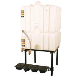 Liquidynamics - RTT-6320 - 200-gal. 2 Tank Horizontal Leg Storage Tank System