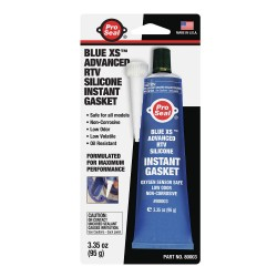 Ductmate Industries - 80003 - Gasket Maker Blue RTV Silicone Sealant, 3.35 oz