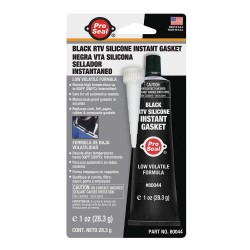 Ductmate Industries - 80044 - Gasket Maker Black RTV Silicone Sealant, 1 oz.