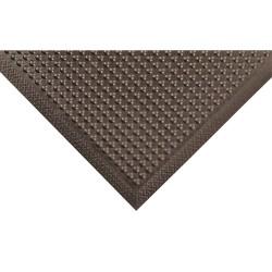"""Notrax - 447S0023BL - 24""""x36""""x3/8"""" Black Comfot-eze Floor Mat"""