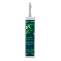Dow Corning - 1891987 - Aluminum Gray Sealant, Silicone, 10.1 oz.