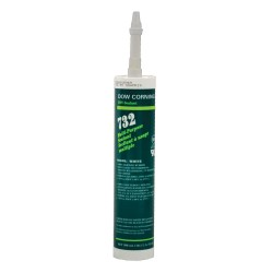 Dow Corning - 1892118 - White Sealant, Silicone, 10.1 oz.