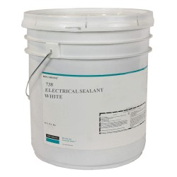 Dow Corning - 1907824 - White Sealant, Silicone, 5 gal.