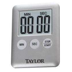Taylor Precision - 5842 - Digital Timer, Min. Time Setting 1 sec.