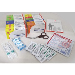 Tender - 9994-2015 - First Aid Kit Refill, Refill, Cardboard Case Material, Industrial, 25 People Served Per Kit