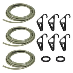 The Better Bungee - BBCC1/4MG - Cargo Rope Kit, 10 ft. L, 1/4 W