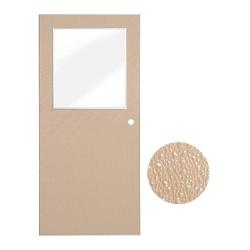 Ceco Door / Assa Abloy - CFRPD-HG3070TA-CYL-CU-RH - Security Door, Half Glass Design, Hand RH
