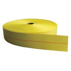 Bulk-Strap - PE02050PY - Bulk Webbing, Yellow, 50 ft. L, 2 W