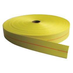 Bulk-Strap - PE02300PY - Bulk Webbing, Yellow, 300 ft. L, 2 W