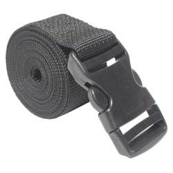 Bulk-Strap - A1596SSB - Cinch Strap, 1-1/2 x 96, Black