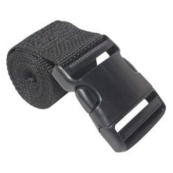 Bulk-Strap - A0248SSB - Cinch Strap, 2 x 48, Black
