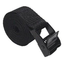 Bulk-Strap - A0148MCB - Cinch Strap, 1 x 48, Black