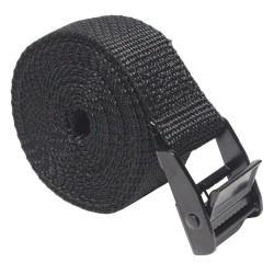 Bulk-Strap - A0196MCB - Cinch Strap, 1 x 96, Black