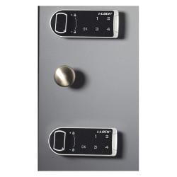 MMF Industries - 20120088D01 - Steelmaster Maximum Security Key Cabinet W/ Dual-control Keyed Deadbolts(88 Key