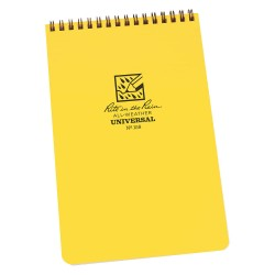 JL Darling - 158 - All Weather Notebook, Yellow Cover