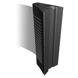 Tensator - BELTEND-C - Plastic Standard Belt End, Black