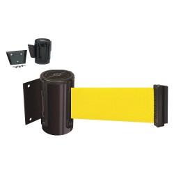 Tensator - 896-RMV-33-STD-NO-Y5X - Barrier Post, Metal Post, Black Finish