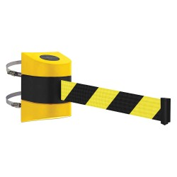Tensator - 897-24-C-35-NO-D4X-C - Barrier Post, Plastic Post, Yellow Finish