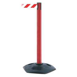 Tensator - 886-21-MAX-NO-D3X-C - Barrier Post, PVC Post, Red Finish