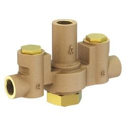 Acorn Aqua - ST7069 - 1/2 NPT Inlet Type Mixing Valve, Brass, 12 gpm