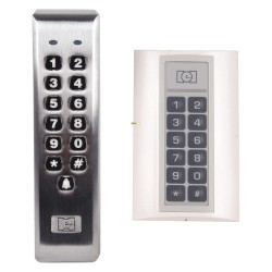 Linear - 232ILM-AL - Weather Resistant Keypad, For Use With Access Control Applications