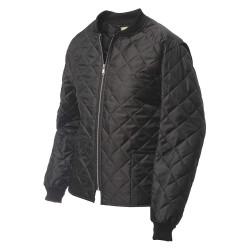 Richlu - I7Z951 - Freezer Jacket, Black, 2XL Tall Size, Mens