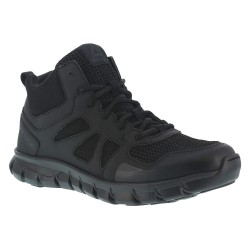 Reebok - RB8405-4M - 4H Men's Tactical Oxford Boots, Plain Toe Type, Black, Size 4