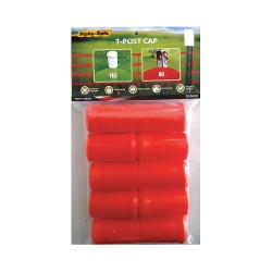 Stake Safe - 1007O - Post Cap, Orange, 2 dia., PK10