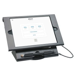 CTA Digital - PAD-DSCKM - CTA Digital Dual Security Compact Kiosk for iPad Mini - Black